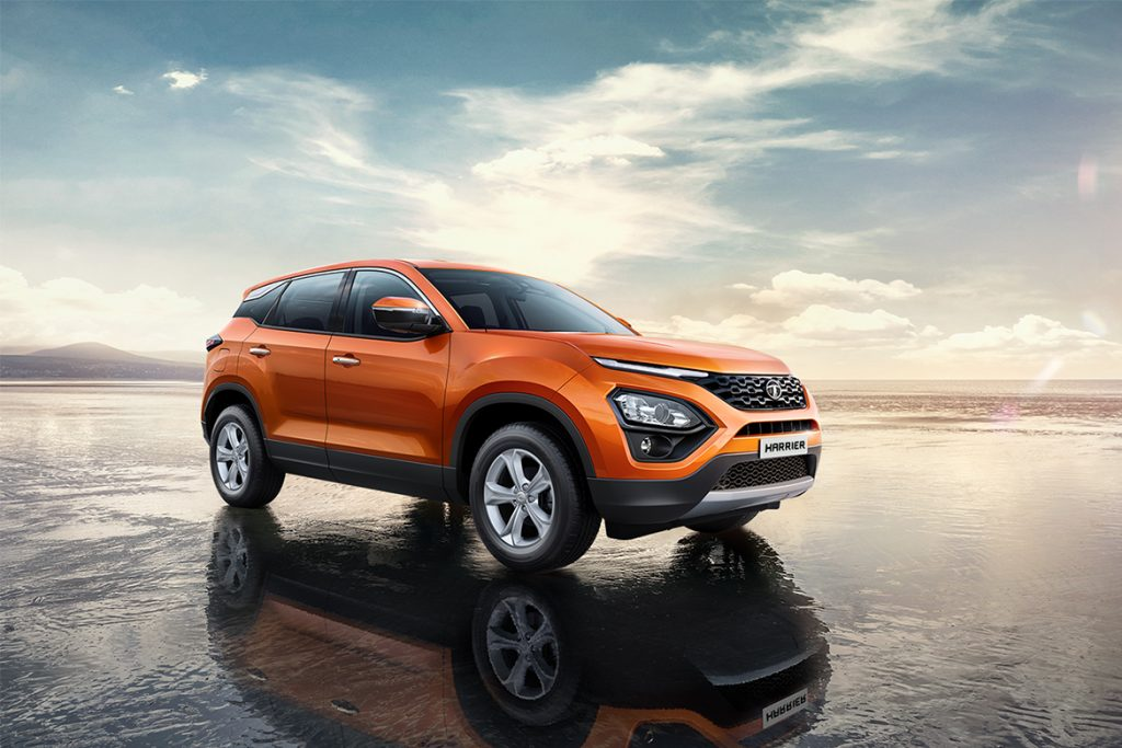 NEW TATA HARRIER EXTERIOR
