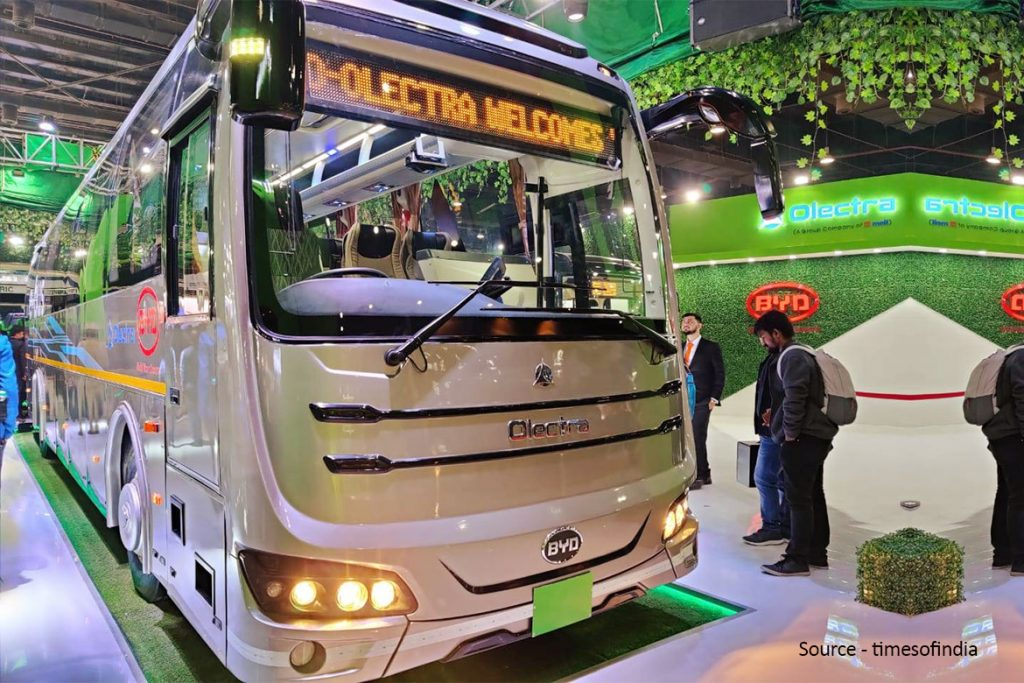 LATEST ELECTRIC BUS