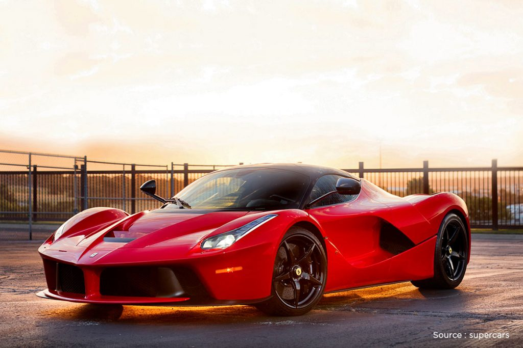 LAFERRARI vintage car