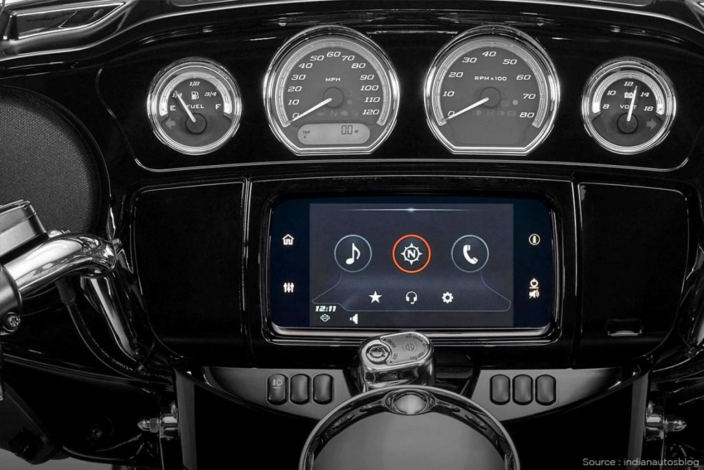 New android system available in Harley Davidson