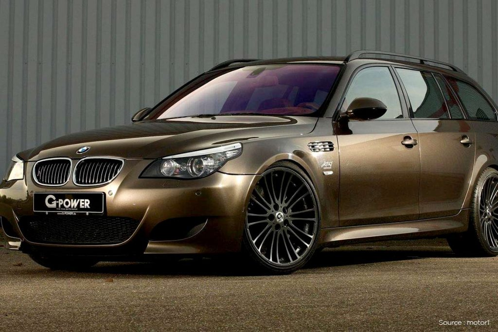 7. BMW M5 Touring G-Power Hurricane RS – $400,000