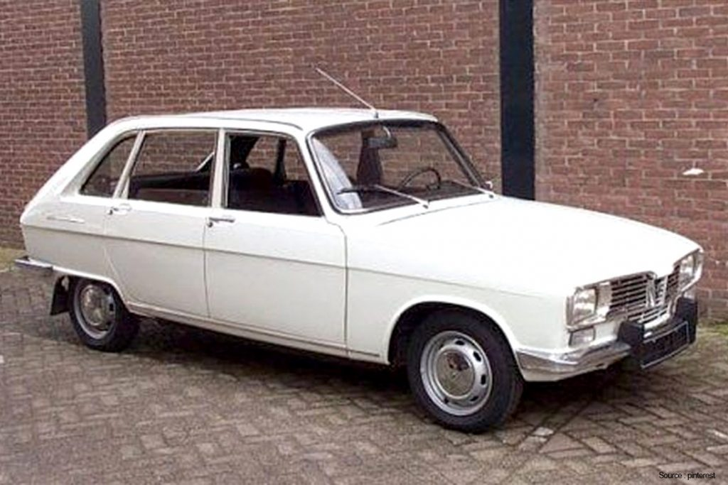 Rare French Survivor: 1973 Renault 16 TL