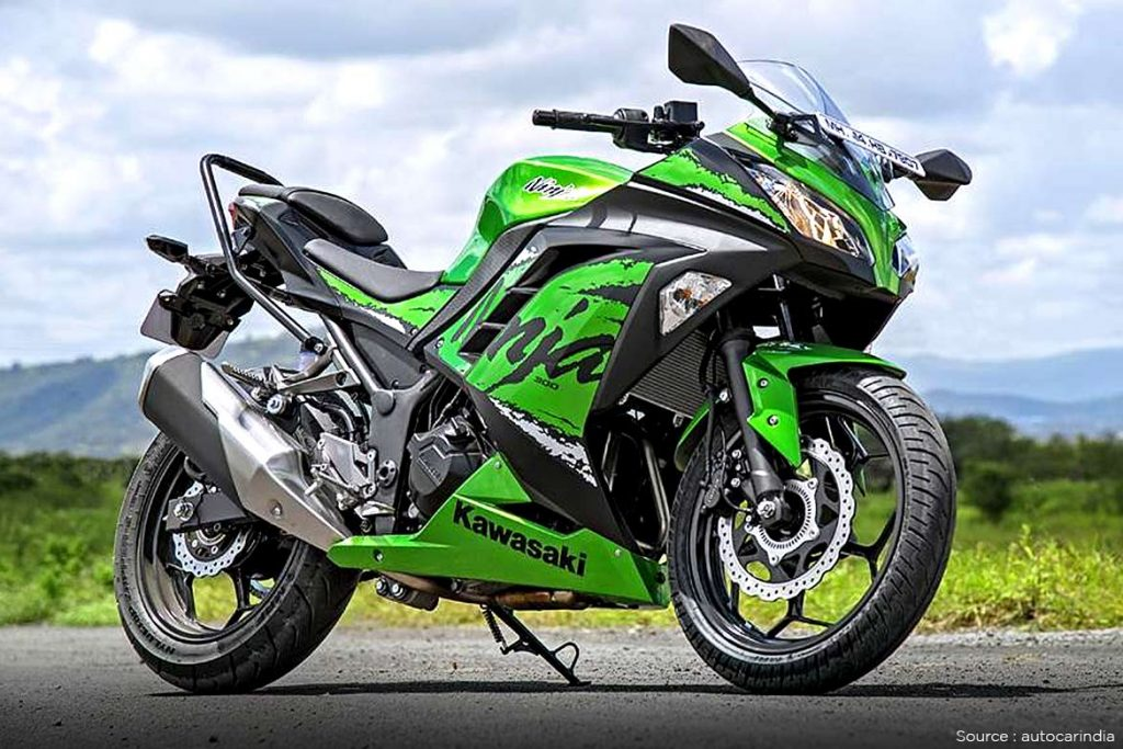 The Kawasaki Ninja 300
