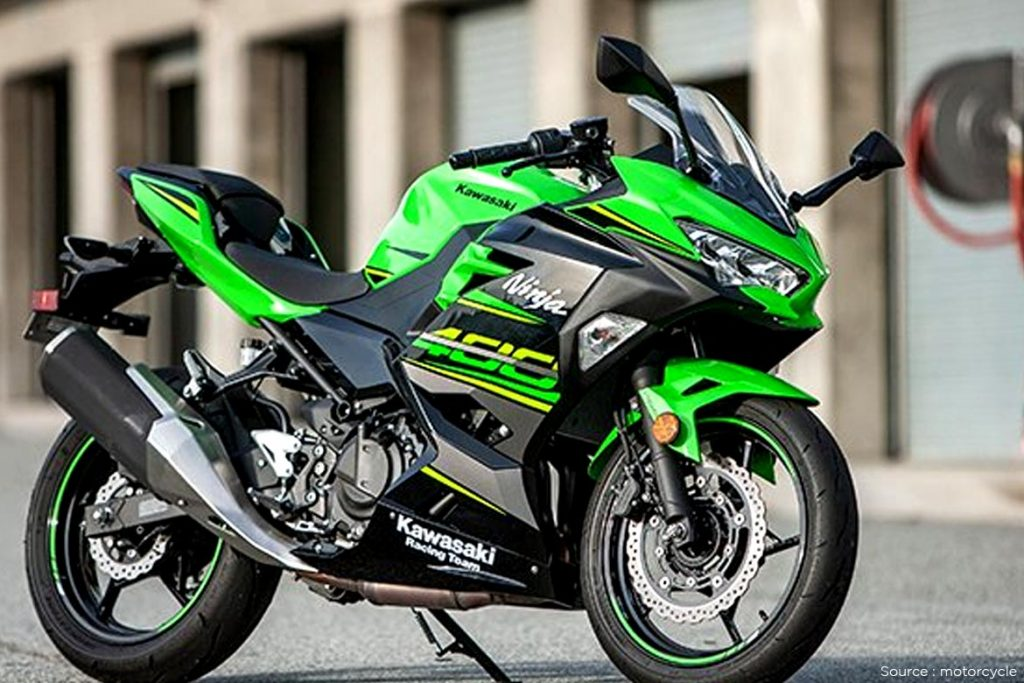The Kawasaki Ninja 400