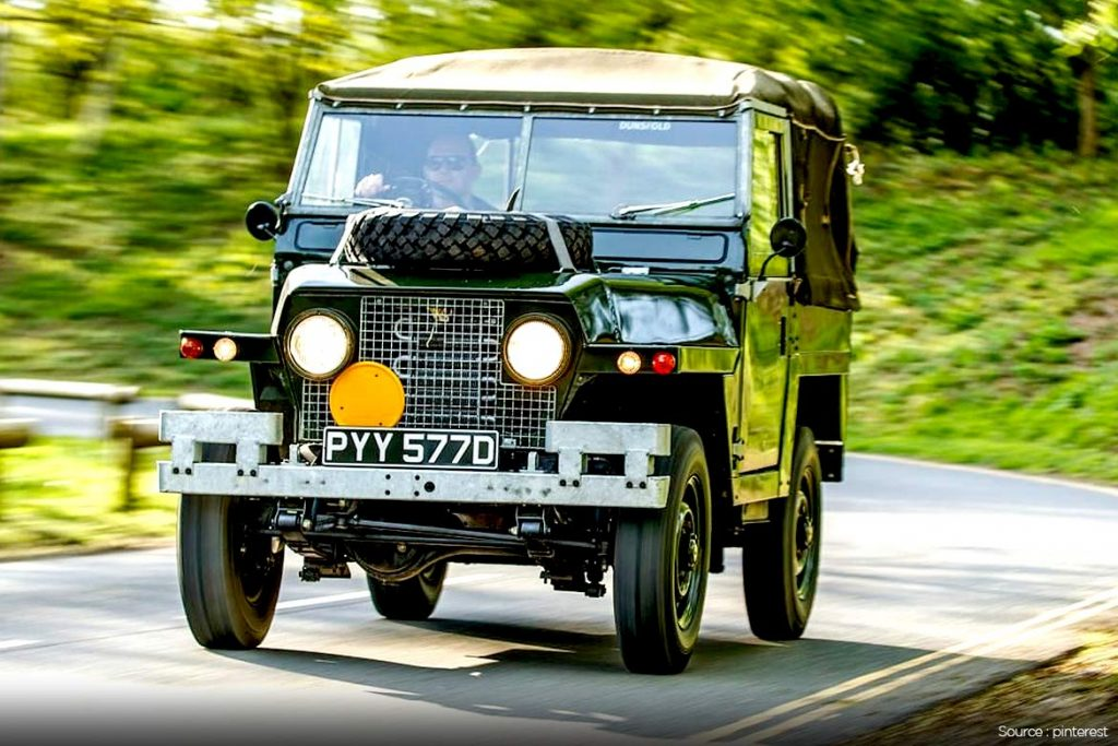1970-ish series ii a, military lightweight land rover