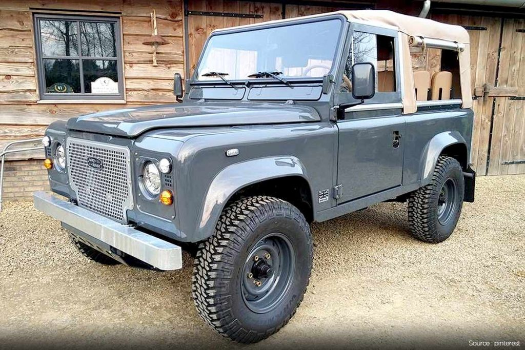 Early 1990's Defender 90 Station Wagon