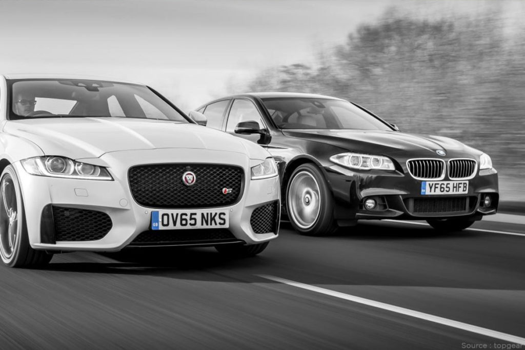 Jaguar vs BMW