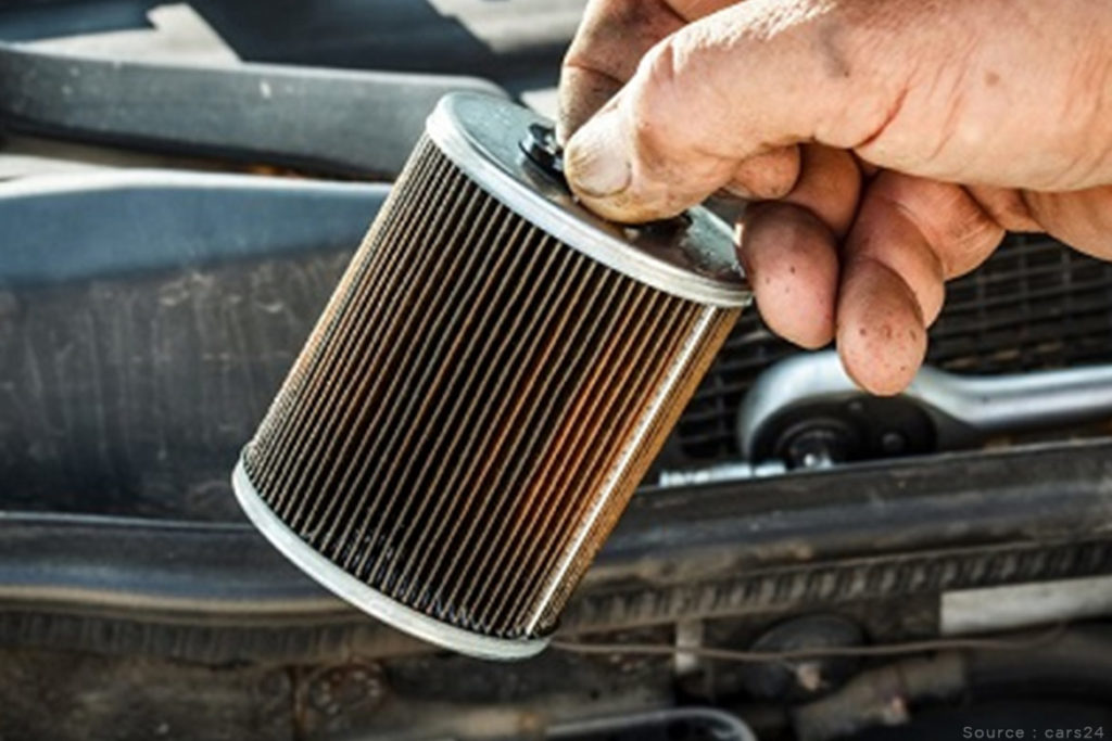 Replace your fuel filter