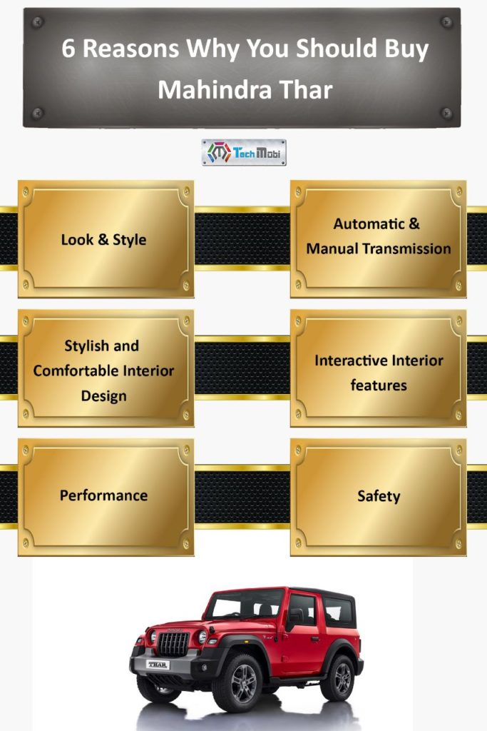 Mahindra Thar the best Jeep in the segment