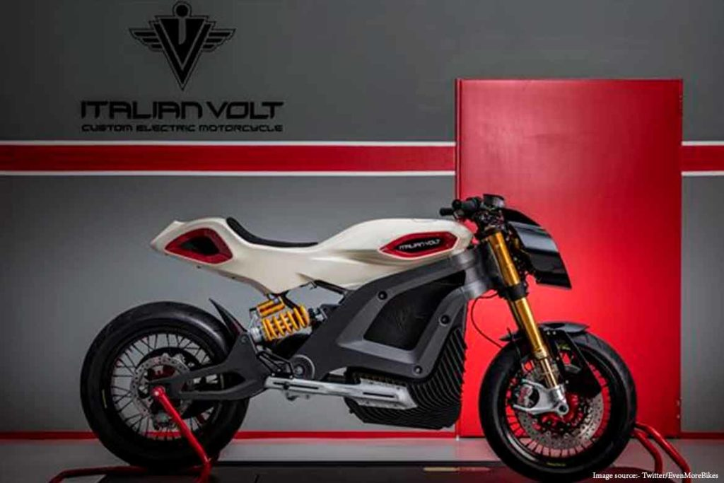 3D electric motorcycle