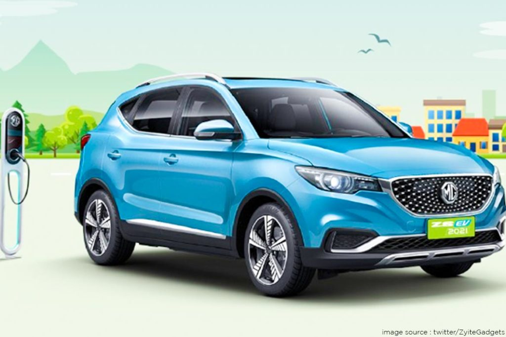 2021 MG ZS EV to be Revealed