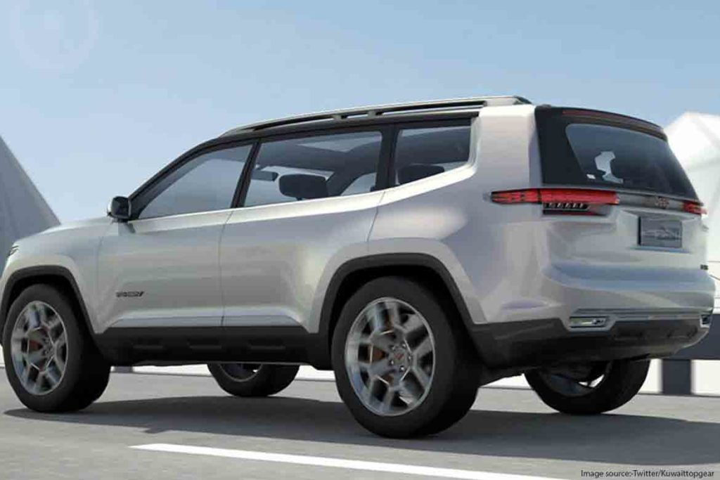 Jeep's upcoming 7-seater