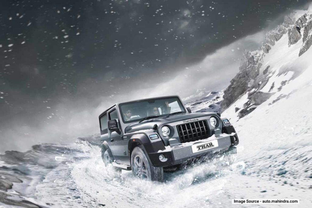 Mahindra cars for travelling